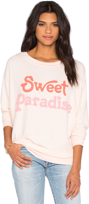 Wildfox Couture Sweet Paradise Sweatshirt $108 thestylecure.com