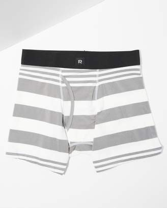 7 For All Mankind Richer Poorer Dunn Boxer Briefs in White and Grey