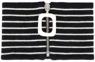 J.W.Anderson striped neckband