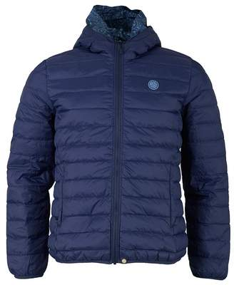 Pretty Green Barker Jacket Colour: NAVY, Size: LARGE