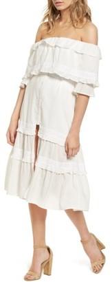 Women's Majorelle Gemini Off The Shoulder Dress $198 thestylecure.com