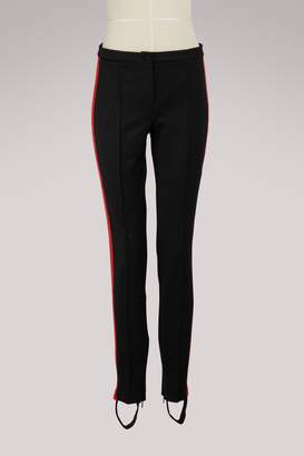 Gucci Technical jersey stirrup legging with crystals