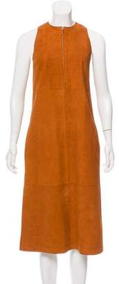 The Row Ronston Suede Dress w/ Tags