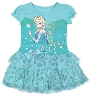 Frozen Elsa Let it Go Tulle Tutu Dress