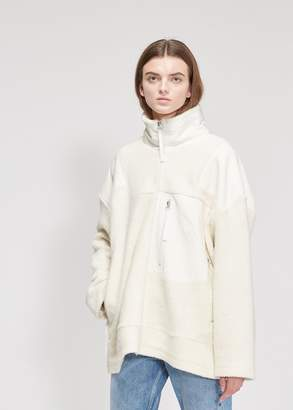 MM6 MAISON MARGIELA Oversized Fleece Jacket