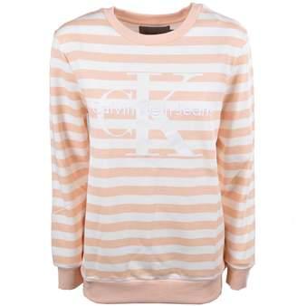 Calvin Klein Jeans Stripe Logo Sweatshirt