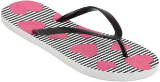 MIXIT Mixit Womens Tropical Print Flip-Flops