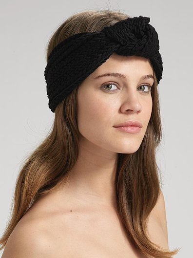 Jennifer Behr Knit Turban Headwrap