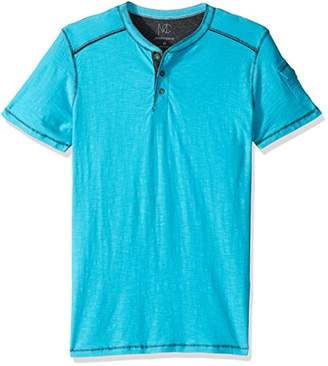 Modern Culture Men's Short Sleeve Henley Shirt