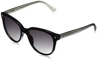 Cole Haan Women's Ch7043 Plastic Oval Sunglasses