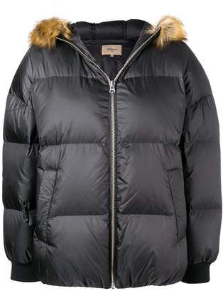 Bellerose fur collar puffer jacket