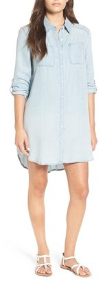 Billabong 'Got the Blues' Chambray Shirtdress $64.95 thestylecure.com