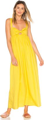 Mara Hoffman Tie Front Maxi Dress $385 thestylecure.com