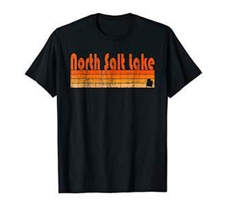 Retro 80s Style North Salt Lake UT T-Shirt