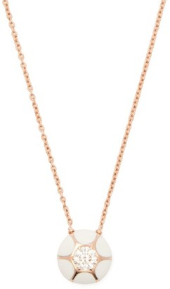 Selim Mouzannar Sea Flowers 18kt Rose Gold & Diamond Necklace - Womens - White