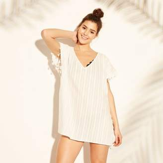 afb781162644 Cover 2 Cover Women's Tassel Trim Poncho Cover Up Dress