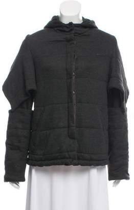 Doo.Ri Hooded Mélange Jacket