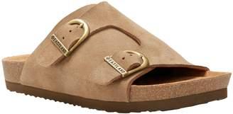 Eastland Suede Slide Sandals - Kendall