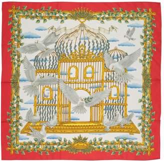 Hermes Carré 90 silk scarf & pocket square