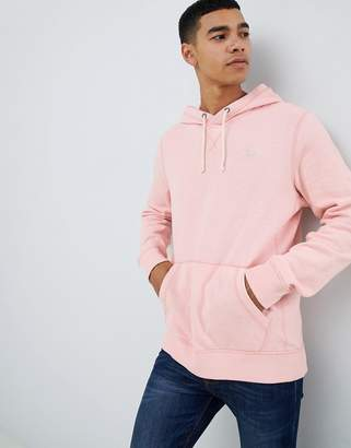 Abercrombie & Fitch icon logo hoodie in pink