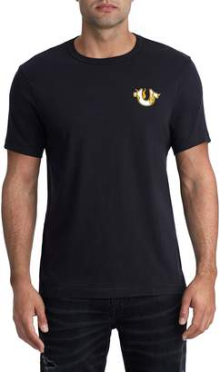True Religion Brand Jeans Inferno Crewneck Cotton T-Shirt