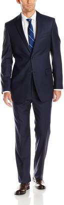 Tommy Hilfiger Men's Nathan Light Pinstripe 2-Button Side Vent Suit