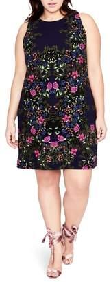 Rachel Roy Floral A-Line Dress
