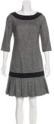 Pendleton Virgin Wool Pleated Dress