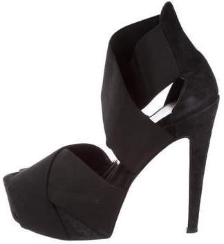 Bruno Frisoni Platform Crossover Sandals