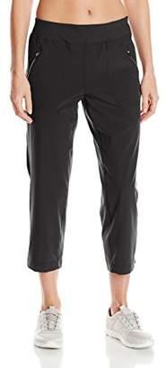 Calvin Klein Jeans Calvin Klein Performance Women's Stretch Microfiber Shirred Crop Pant