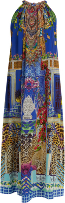 CAMILLA Bohemian Bounty-print silk dress $517 thestylecure.com