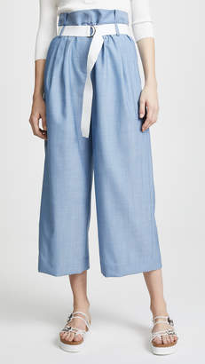 Tibi Paper Bag Pants