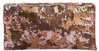 Prada Sequin Camo Clutch
