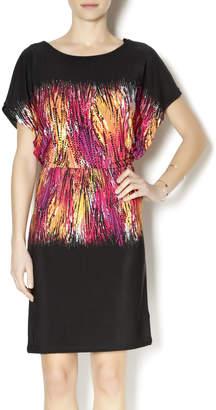 Tribal Stretch Waist Dress