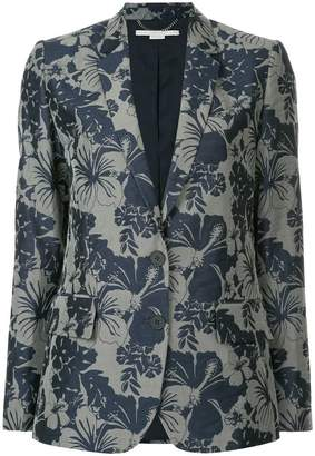 Stella McCartney floral print blazer