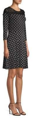 MICHAEL Michael Kors Foulard-Print A-Line Dress