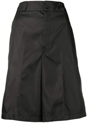Prada loose fit shorts