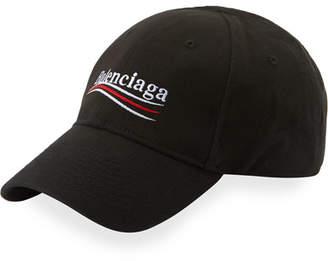 Balenciaga Campaign Logo Snapback Baseball Cap