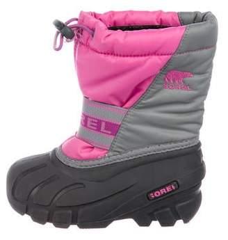 Sorel Girls' Colorblock Snow Boots