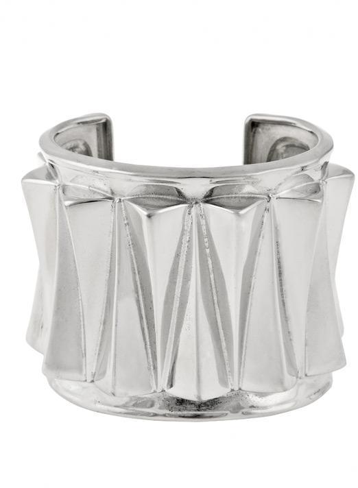 Ben-Amun Ben Amun by Isaac Manevitz Silver Triangle Cuff