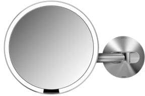 Simplehuman 8X Wall Mount Sensor Makeup Mirror