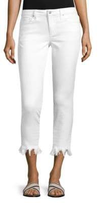 Joe's Jeans Icon Cropped Fray Jeans
