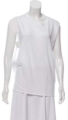 Theyskens' Theory Sleeveless Cut-Out Top