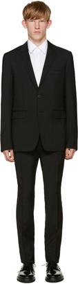Burberry Black Wool Suit $1,995 thestylecure.com