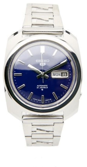 Seiko Seiko 5 6119 Stainless Steel Automatic Vintage 38mm Mens Watch