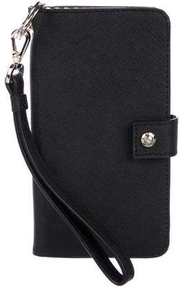Henri Bendel Leather Phone Case