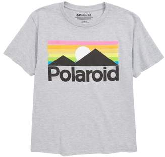 Mighty Fine Polaroid Over the Hill Graphic T-Shirt
