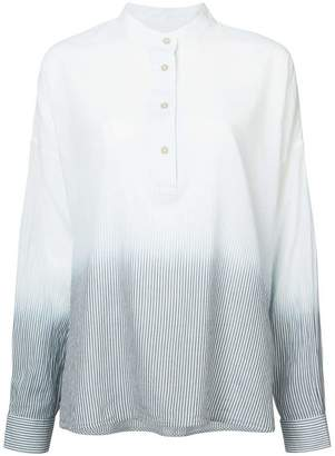 Elizabeth and James gradient button down collar shirt