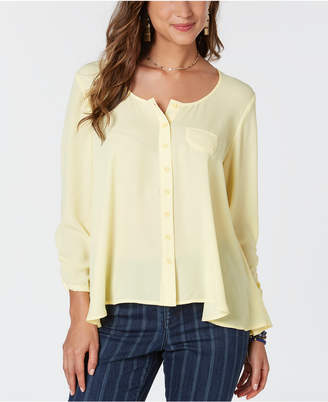 Style&Co. Style & Co High-Low Swing Top