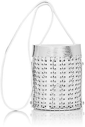 Paco Rabanne Women's 14#01 Mini Chain-Mail Bucket Bag - Argent